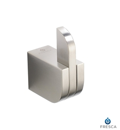 Fresca Solido Robe Hook in Brushed Nickel