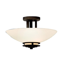 Kichler Hendrik Collection Semi Flush 2 Light in Olde Bronze