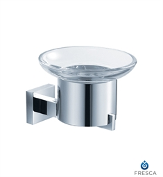 Fresca Glorioso Soap Dish (Wall Mount) in Chrome