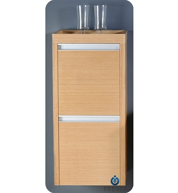 Fresca FST3030LO Light Oak Bathroom Linen Side Cabinet with 2 Doors