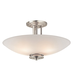 Kichler Hendrik Collection Semi Flush 4 Light in Brushed Nickel
