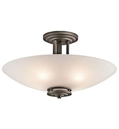 Kichler Hendrik Collection Semi Flush 4 Light in Olde Bronze