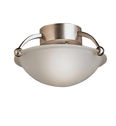 Kichler Semi Flush 1 Light in Brushed Nickel