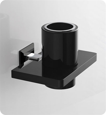 Nameeks G302-14 Toscanaluce Toothbrush Holder With Finish: Black