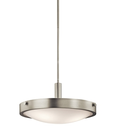 Kichler Convertible Semi Flush 3 Light in Brushed Nickel