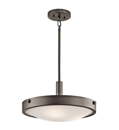 Kichler Convertible Semi Flush 3 Light in Olde Bronze