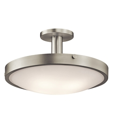 Kichler 42246NI Semi Flush 4 Light in Brushed Nickel