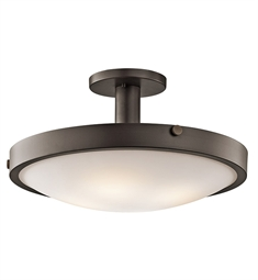 Kichler Semi Flush 4 Light in Olde Bronze