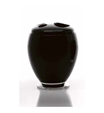 Nameeks A052-14 Toscanaluce Toothbrush Holder With Finish: Black