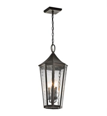 Kichler 49517OZ Rochdale 4 Light Incandescent Outdoor Hanging Pendant in Olde Bronze