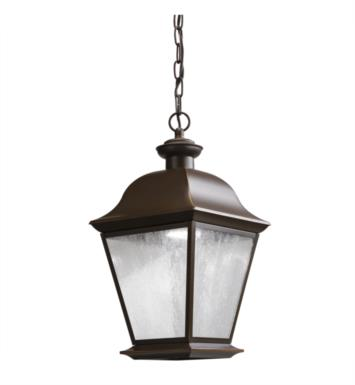 Kichler 9809OZLED Mount Vernon 1 Light LED Outdoor Hanging Pendant in Olde Bronze