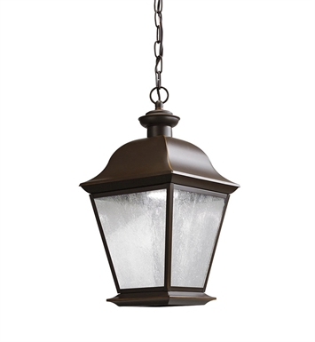 Kichler 9809OZLED Outdoor Pendant 1 Light LED in Olde Bronze