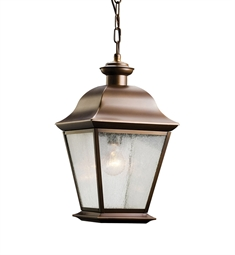 Kichler Outdoor Pendant 1 Light in Olde Bronze