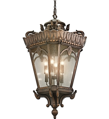 Kichler 9568LD Outdoor Hanging Pendant 8 Light in Londonderry