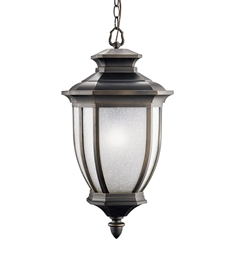 Kichler Outdoor Hanging Pendant 1 Light in Rubbed Bronze