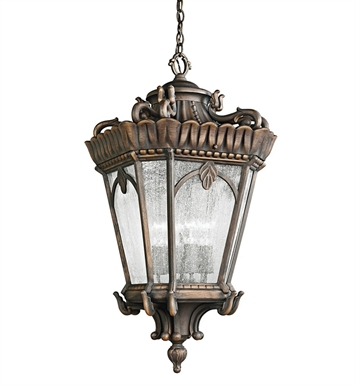 Kichler 9564LD Outdoor Hanging Pendant 4 Light in Londonderry