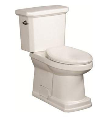 Danze DC023330BC-DC022321BC Cirtangular® 2 Piece High Efficiency Toilet in Biscuit