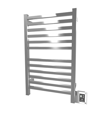 Amba Q-2033B QUADRO Towel Warmer With Finish: Brushed