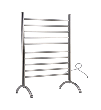 Amba SAFSB-33B SOLO Freestanding Towel Warmer With Finish: Brushed
