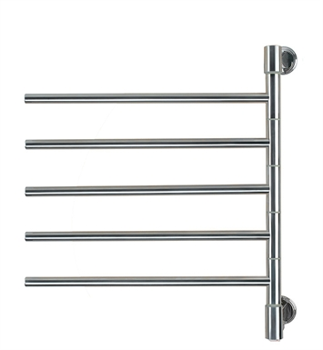 Amba D005P Jack Towel Warmer With Finish: Polished