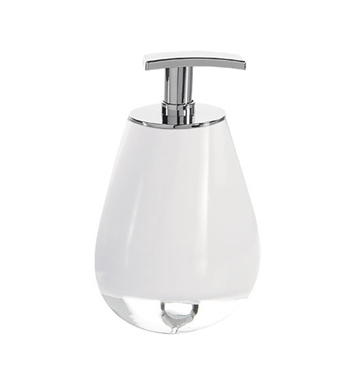 Nameeks FO80-SL Gedy Soap Dispenser With Finish: Silver