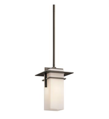 Kichler 49640OZ Caterham 1 Light Incandescent Outdoor Hanging Pendant in Olde Bronze