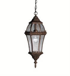 Kichler Outdoor Hanging Pendant 1 Light in Tannery Bronze