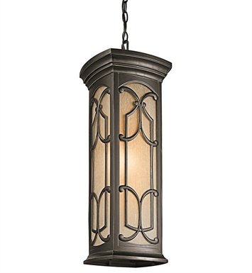 Kichler 49231OZ Outdoor Hanging Pendant 1 Light in Olde Bronze