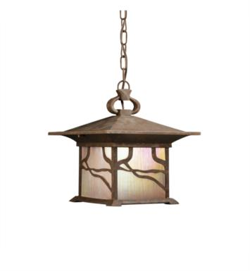 Kichler 9837DCO Morris 1 Light Incandescent Outdoor Hanging Pendant in Distressed Copper
