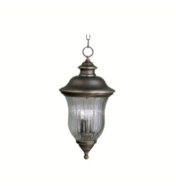 Kichler 9832OZ Sausalito 3 Light Incandescent Outdoor Hanging Pendant in Olde Bronze