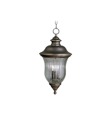 Kichler 9832OZ Outdoor Pendant 3 Light in Olde Bronze