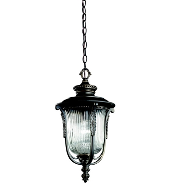 Kichler 49005RZ Outdoor Hanging Pendant 1 Light in Rubbed Bronze