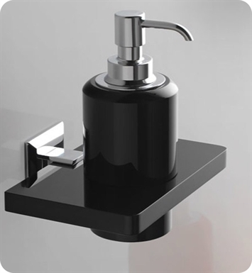 Nameeks G223-14 Toscanaluce Soap Dispenser With Finish: Black