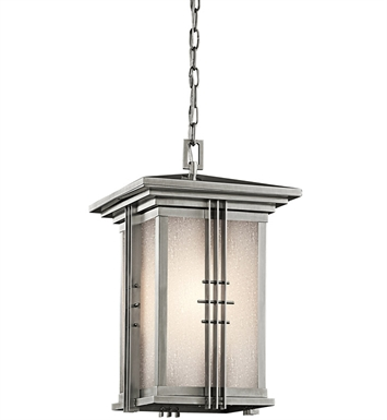 Kichler 49161SS Outdoor Hanging Pendant 1 Light in Stainless Steel