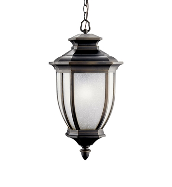 Kichler Outdoor Hanging 1 Light Fluorescent in Rubbed Bronze