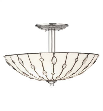 Kichler 65331 Cloudburst Collection Semi Flush 3 Light