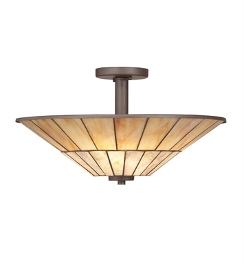 Kichler 65356 Morton Collection Semi Flush 3 Light