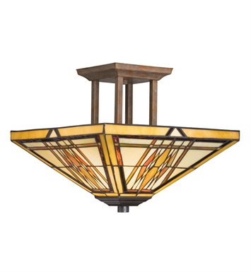 Kichler Semi Flush 2 Light