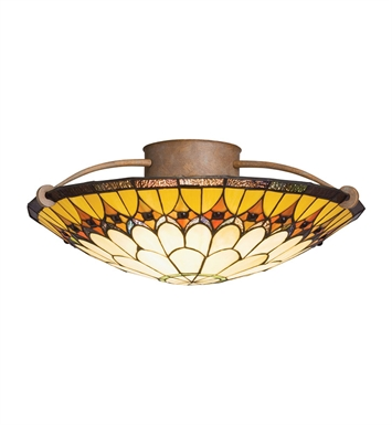 Kichler 69017 Semi Flush 3 Light