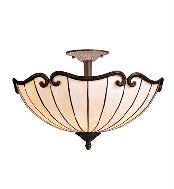 Kichler 69046 Clarice Collection Semi Flush 2 Light