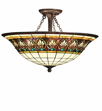 Kichler 69050 Provencia Collection Semi Flush 3 Light