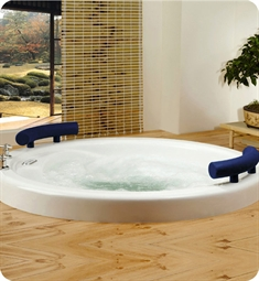 Neptune OS52 Osaka Customizable Round Bathroom Tub