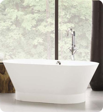 Neptune WISHO1 Wish O1 Freestanding Oval Bathroom Tub