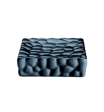 Nameeks 4711-14 Gedy Soap Dish With Finish: Black