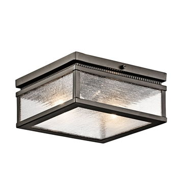Kichler 49389OZ Outdoor Ceiling 2 Light in Olde Bronze