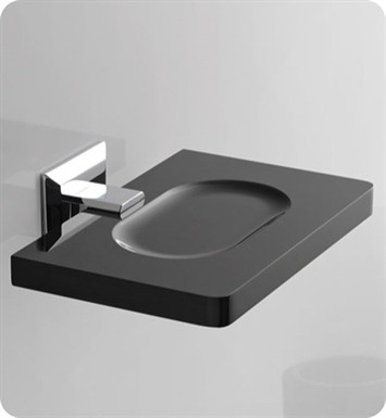 Nameeks G201-14 Toscanaluce Soap Dish With Finish: Black