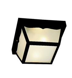 Kichler Outdoor Flush Mount 2 Light in Black