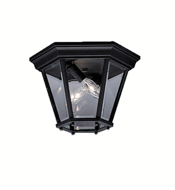Kichler 9850TZ Outdoor Flush Mount 2 Light With Finish: Tannery Bronze
