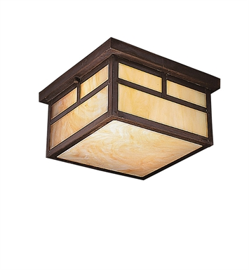 Kichler 9825CV Outdoor Flush Mount 2 Light