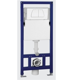 EAGO In Wall Tank and Carrier for Wall Mounted Toilets